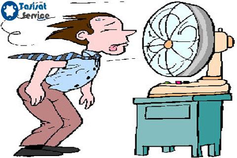 چطور کولری که باد خنک نمی دهد را تعمیر کنیم؟