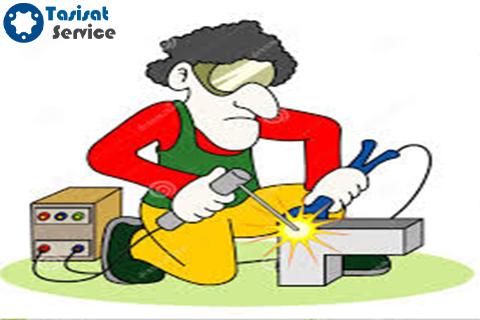 ارائه انواع خدمات جوشکاری صنعتی و خانگی توسط سایت تاسیسات سرویس: