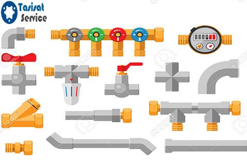 نقشه لوله کشی ساختمان و انجام تعمیرات لوله کشی ساختمان