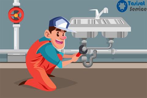 تعمیر لوله و اتصالات لوله کشی آب و فاضلاب