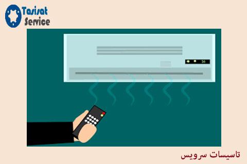 تعمیرات کولرهای گازی اسپیلت تهران